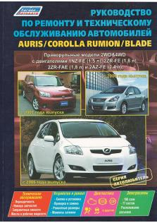 Toyota Auris, Corolla Rumion, Blade с 2006 года