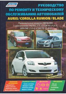 Toyota Auris, Corolla Rumion, Blade с 2006 года