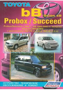 Toyota bB, Scion xB, Probox, Succeed с 2000 года