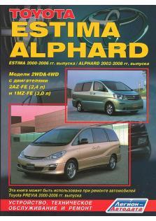 Toyota Estima Alphard с 2000 по 2006 год