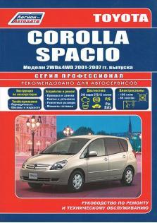 Toyota Corolla Spacio с 2001 по 2007 год