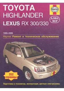 Toyota Highlander, Lexus RX 300/330 с 1999 по 2006 год
