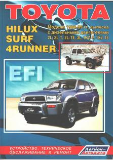 Toyota Hilux / Surf / 4Runner с 1988 по 1999 г.в.