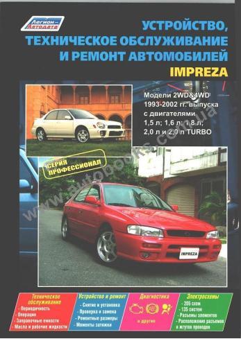Impreza с 1993 года по 2005