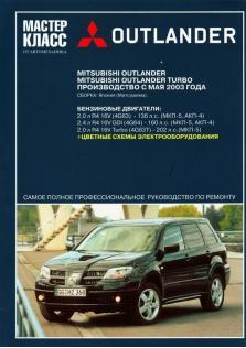 Руководство по ремонту, эксплуатации и техническому обслуживанию Mitsubishi Outlander с 2003 года