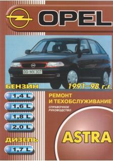 Astra с 1991 года по 1998