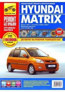 Руководство по эксплуатации, техническому обслуживанию и ремонту автомобилей Hyundai Matrix с 2001г.в, рестайлинг в 2005 и 2008 гг.