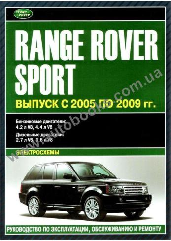 Range Rover с 2005 года по 2009