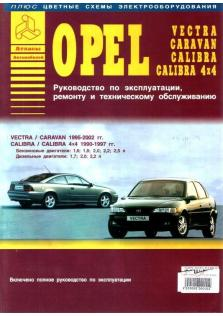 Caravan-Vectra-Calibra с 1995 года по 2002