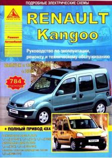 Руководство по эксплуатации, ремонту и техническому обслуживанию Renault Kangoo с 1997 года