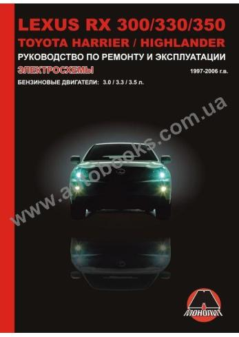 LEXUS-RX-Harrier-Highlander с 1997 года по 2006