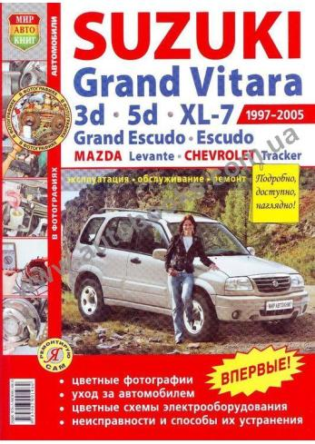 Grand Vitara с 1997 года по 2005