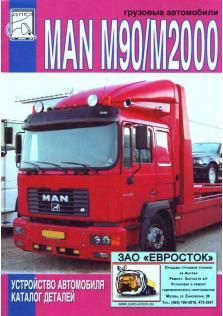 Каталог деталей и устройство грузовых автомобилей MAN M90, MAN M2000