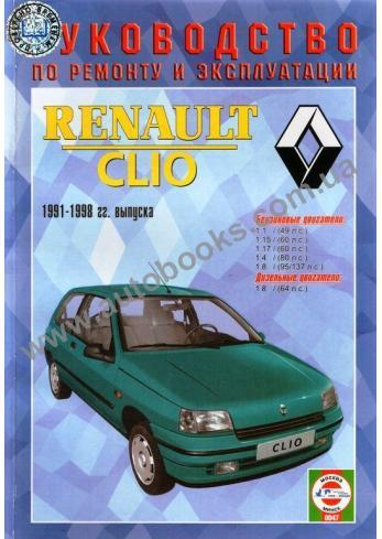 Clio с 1991 года по 1998
