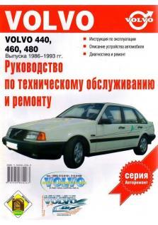 Руководство по ремонту, эксплуатации и техническому обслуживанию Volvo 440, 460, 480 с 1986 по 1993 год