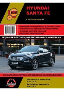 Руководство по ремонту и эксплуатации Hyundai Santa Fe с 2012 года