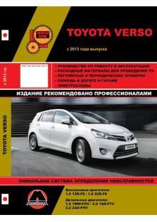 Toyota Verso с 2013 года