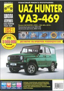 Руководство по эксплуатации, техническому обслуживанию и ремонту автомобилей UAZ Hunter с 2003 года