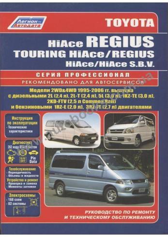 Hiace с 1995 года по 2006
