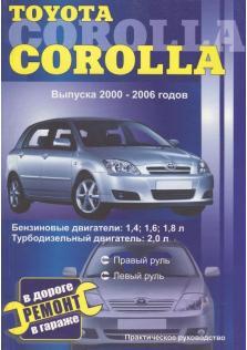 Toyota Corolla с 2000 по 2006 г.в.