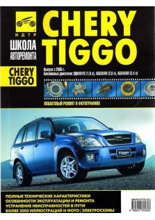 Руководство по ремонту и эксплуатации Chery Tiggo бензин с 2005 года