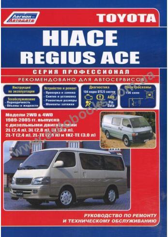 Hiace с 1989 года по 2005