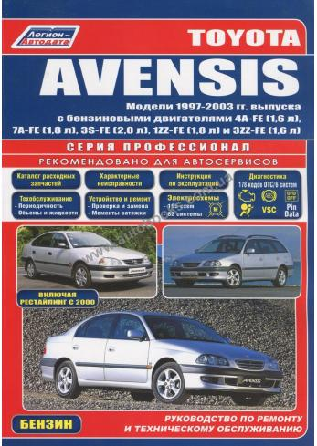 Avensis с 1997 года по 2003