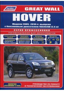 Руководство по ремонту и эксплуатации автомобиля Great wall Hover с 2005 по 2010 год с каталогом деталей