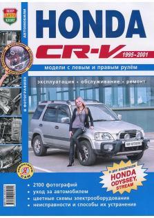 Honda CR-V (Honda Odyssey, Stream) с 1995 по 2001 год