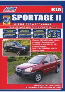 KIA Sportage ll с 2004 по 2010 год (Бензин/Дизель) с каталогом деталей