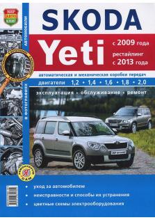 Skoda Yeti с 2009 года (+ рестайлинг 2013 года)