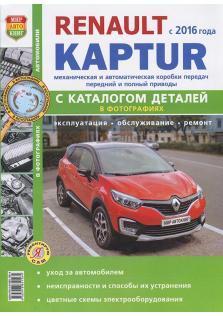 Renault Kaptur с 2016 года с каталогом деталей