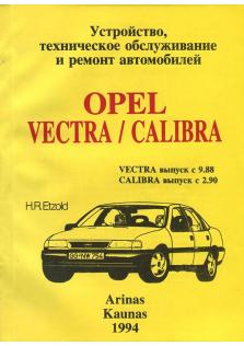 Opel Vectra с 1988 года, Calibra с 1990 года