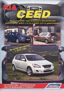 Kia Ceed с 2006 года (включая рестайлинг с 2010 года)
