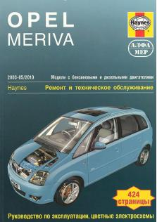 Opel Meriva с 2003 по 2010 год