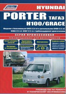 Hyundai Porter с 2005 по 2012 год и H100, Grace с 1993 по 2002 год