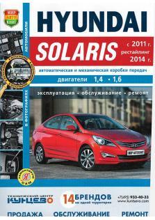 Hyundai Solaris с 2011 года (+ рестайлинг 2014 года)