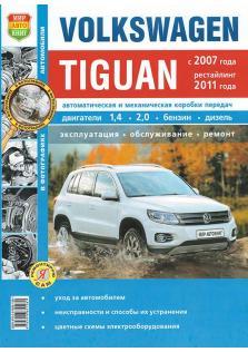 Volkswagen Tiguan с 2007 года (+ рестайлинг 2011 года)