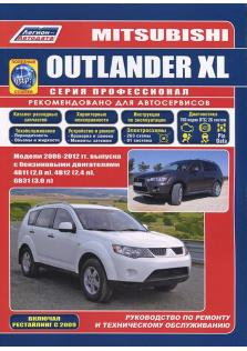 Mitsubishi Outlander XL с 2006 по 2012 год с каталогом деталей