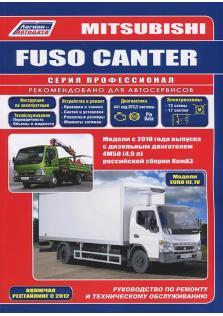 Mitsubishi Fuso Canter с 2010 года (включая рестайлинг 2012 года)