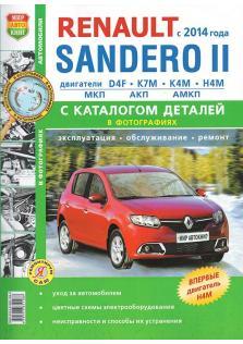 Renault Sandero 2 с 2014 года с каталогом деталей