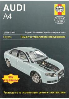 Audi A4 с 2005 по 2008 год