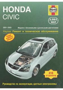 Honda Civic с 2001 по 2005 год