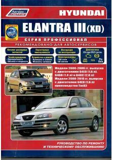 Hyundai Elantra XD с 2000 по 2010 год