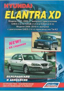 Hyundai Elantra XD с 2000 по 2006 год