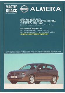 Nissan Almera (N16) с 2000 по 2006 год