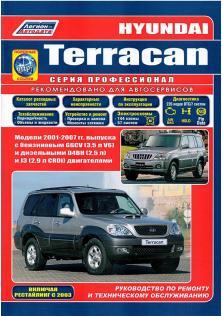 Hyundai Terracan с 2001 по 2007 год