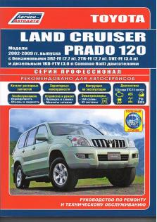 Toyota Land Cruiser Prado 120 с 2002 по 2009 год