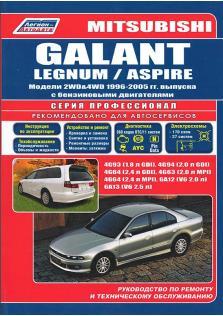 Mitsubishi Galant, Legnum, Aspire с 1996 по 2005 год