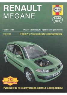 Renault Megane с 2002 по 2005 года.